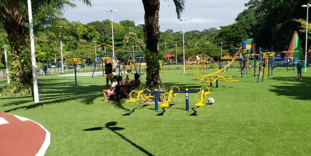 Parque da Cidade em Salvador recebe Grama Sintética