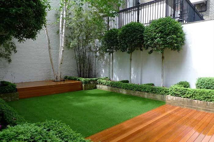 Dicas para fazer um jardim com grama sintética na varanda de apartamento